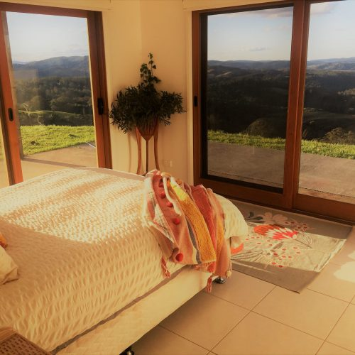 master bedroom house on a hill
